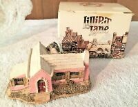 Lilliput Lane Bermuda Cottage In Pink With Box (Unusual) 1985