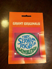 "Vintage Patch Grant Originals ""THEY SERVED ME RIGHT AT WIMBLEDON"" Sealed"