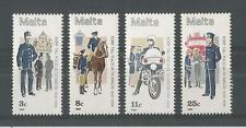 MALTA 1984 POLICE FORCE SG,738-741 UM/M NH LOT 2123A