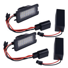 2pc 18LED License Number Plate Light Lamp Fit for VW Golf Passat Polo Skoda Seat