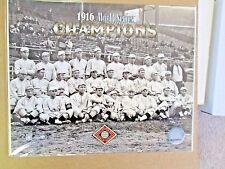 1916 World Champions Boston Red Sox w/ Babe Ruth Glossy 8x10 Photo