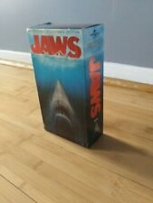 Jaws (VHS, 2000, 2-Tape Set, Anniversary Collectors Edition)- TESTED and works!