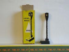 Voie MARKLIN M HO - Signal Lumineux Lanterne pour Rail de Detelage - TBE - Boite
