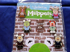 Disney * VINYLMATION - MUPPETS #1 * Retired 7-Pin Booster Set w/ Mystery Chaser