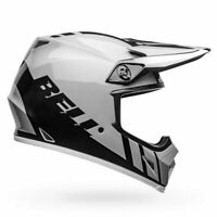 Bell MX-9 MIPS Adventure Sport Motorcycle Helmet - Dash White/Black - Size: Med