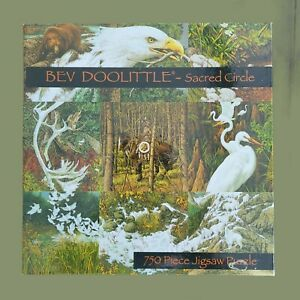 Bev Doolittle Sacred Circle Puzzle 2002 Ceaco 750 Pieces Collage Nature Animals