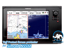 Clear Screen Protectors for Simrad Nss 12 Fishfinder (2pcs) - Tuff Protect
