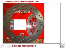 DISQUE FREIN ARRI�ˆRE BREMBO 68B40749 TRIUMPH T-509 SPEED TRIPLE 855 2011 2012