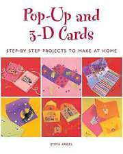 Pop-Up and 3D Cards by Emma Angel (Paperback, 2004) Craft Book