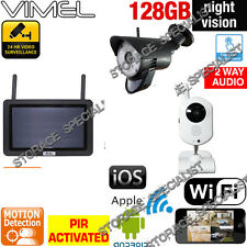 Wireless Security System Home IP Cameras WIFI 720P CCTV Farm Office Alarm Phone