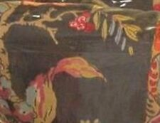 "Ralph Lauren Cape Catherine Tobacco Floral Fabric New Italy 46"" X 46"""