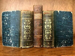 OLD BOOKS COLLECTION 1700 - 1800s
