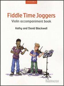Fiddle Time Joggers Violin Accompaniment Music Book