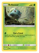 Pokemon Detective Pikachu 1/18 Bulbasaur Holo Individual Single Card