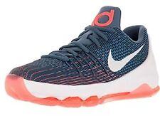 Nike Kids Kd 8 (Gs) Ocean Fog/White/Mid Nvy/Pht Bl Basketball Shoe 6.5 Kids Us