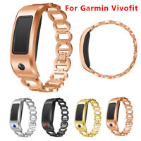 Replacement Luxury Strap Stainless Steel Watch Band Strap For Garmin Vivofit 2