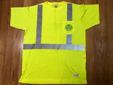 NEW - Waste Management Yellow Reflective Safety Shirt Class 2 Level 2, Size XL