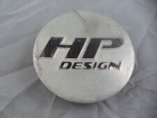 HP Design Wheels Black / Silver Custom Wheel Center Cap # BONA03 (1 CAP)