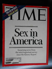 TIME MAGAZINE ~ 19994 OCTOBER 17  SEX IN AMERICA/THE CIA IN HAITI/ DEATH BY CULT
