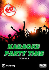 PARTY TIME VOL 4  SUNFLY KARAOKE DVD - 60 HIT SONGS