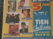 HET BESTE UIT 5 JAAR TIEN OM TE ZIEN (2 CD - 1994) Will Tura, Clouseau, Petra...