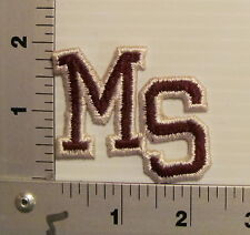 1970's MISSISSIPPI STATE BULLDOGS PATCH VINTAGE COLLEGE