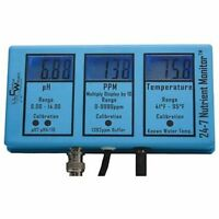 Control Wizard CWP 24-7 Nutrient Monitor PPM pH Temperature Controller