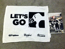 Pittsburgh Penguins 2013 Playoff RALLY TOWEL Round 3 Game 1 Bruins + Program 6-1