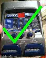Digitech rp100, 200,300,350 Pedal Reparatursatz defekt Switch