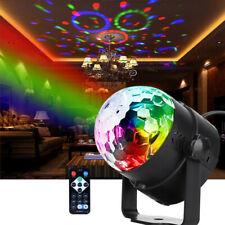 LED Diskokugel Disco Lichteffekte RGB Stage Partylicht Magic Ball Fernbedienung