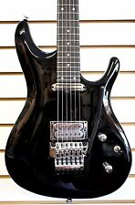 IBANEZ® Joe Satriani JS2450 MCB ELECTRIC GUITAR Muscle Car Black w/Case Used