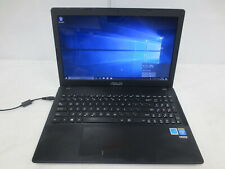 ASUS D550M LAPTOP Celeron N2815 1.86GHz 4GB RAM 500GB HDD NO AC BAD BATTERY
