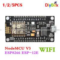 1/2/5x ESP8266 ESP-12E CH340G WIFI Network Development Board for Arduino NodeMcu