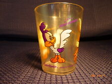 Warner Brothers  Gerber Looney Tunes Baby Plastic Drinking Glass Rare 1992