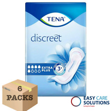 TENA Lady Extra Plus InstaDry  Incontinence Pads - 6 Packs of 8 - Total 48 Pads