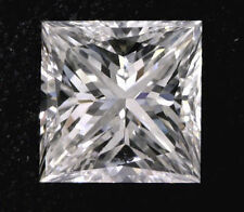 1.01 carat Princess cut Diamond GIA E color VS1 clarity no fl. Excellent loose