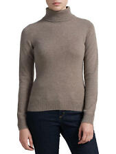 John Lewis Pure Cashmere Roll Neck Toast Brown Jumper NEW 8 , 14 ,16 18 NEW