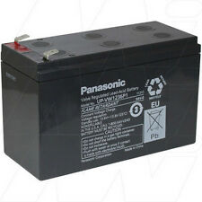 12V 6.6Ah Replacement Battery Compatible with APC RBC17 (1 battery required)