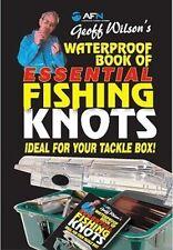 Geoff Wilson's Waterproof Book of Essential Knots by Geoff Wilson (Spiral bound, 2009)