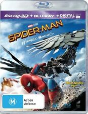 Spider-Man - Homecoming (Blu-ray, 2017, 2-Disc Set)