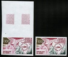 Space Raumfahrt 1973 Niger UAMPT Post Fernmeldeunion 399 A U Perf Imperf /1221