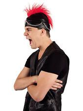 Mütze Rocker mit Irokesen Party Kostüm Accessoires