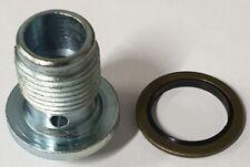 Alfa Romeo Fiat Opel Vauxhall + Sump Drain Plug & Washer Seal 93183669 Febi New