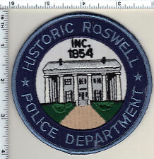 Roswell Police (Georgia)  Shoulder Patch - new from 1990