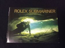 ROLEX VINTAGE SUBMARINER  BOOKLET IN ENGLISH 1994 + FREE SHIPPING