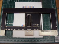Tandberg TCD 300 Cassette Deck Faceplate Rated 8.9 out of 10 Parting Out TCD 300