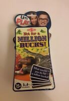 Lets Play Not For A Million Bucks Family Fun After Dinner Game Age 15+