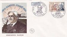 FRANCE 1966 FDC GABRIEL FAURE YT 1473