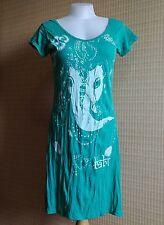 New Babu Yoga Mini Dress  Ganesh Hindu God OM AUM Hippie Boho Free Size