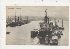 Rotterdam Rijnhaven Netherlands Vintage Postcard 026b